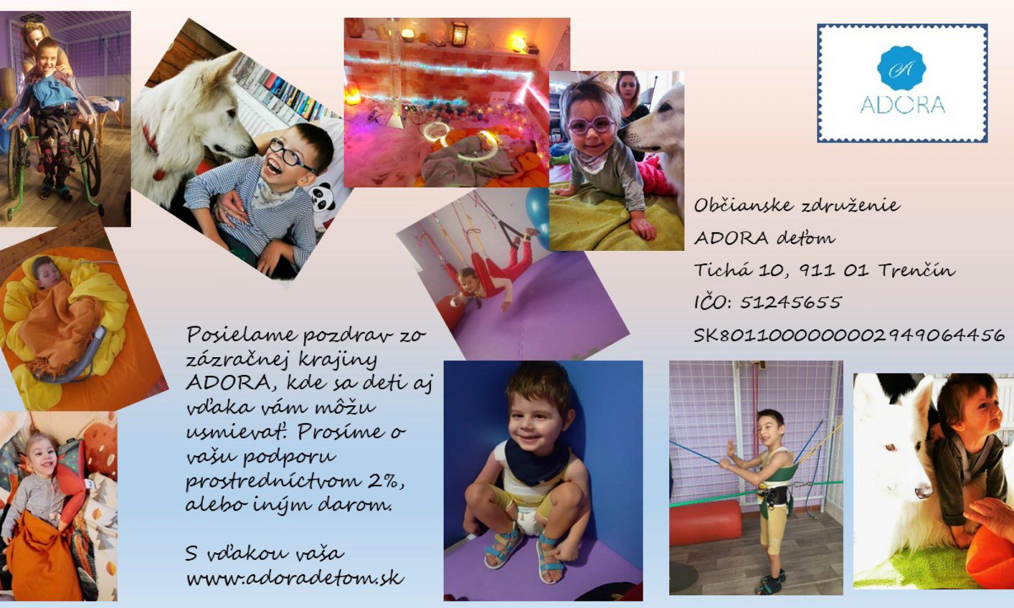 ADORA deťom- rekondično-relaxačné centrum